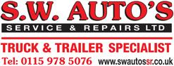 SW Autos Logo